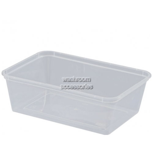 View Takeaway Container Rectangular Clear details.