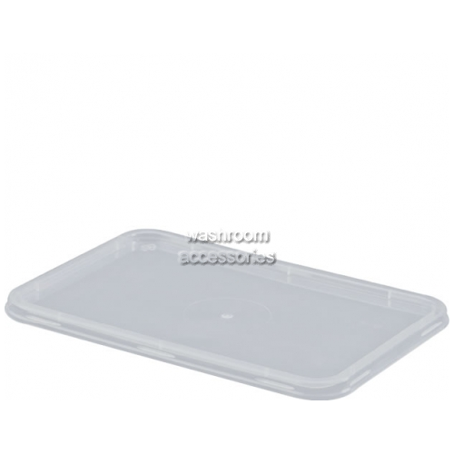 View Takeaway Container Lid Rectangular Flat details.