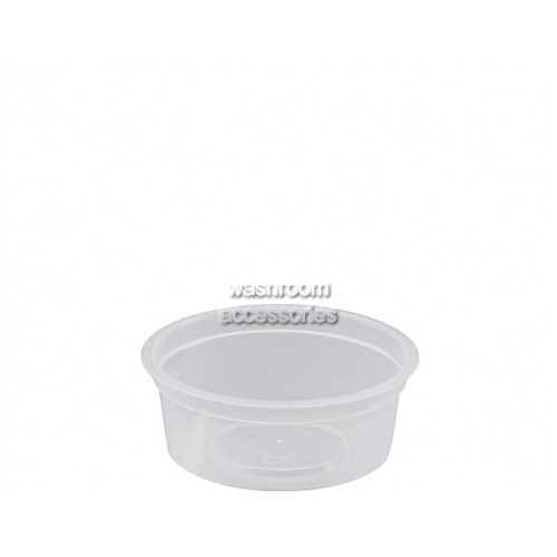 View Takeaway Container Round Small Clear details.