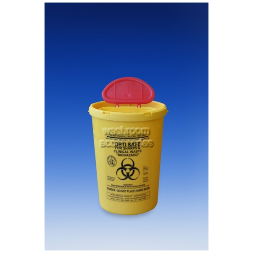 View QSopt1.7 Opti Safe Waste Disposal Container Round 1.7L details.