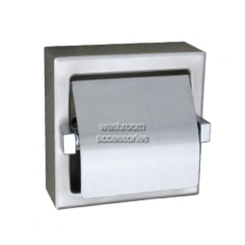 View ML261 Single Toilet Roll Holder Recessed details.