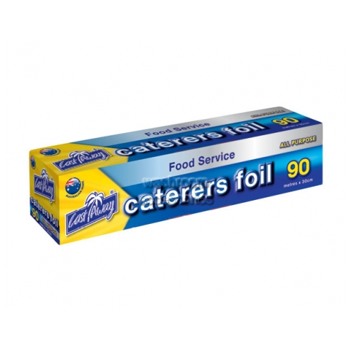 View All Purpose Aluminium Foil Roll Large 90m x 44cm details.