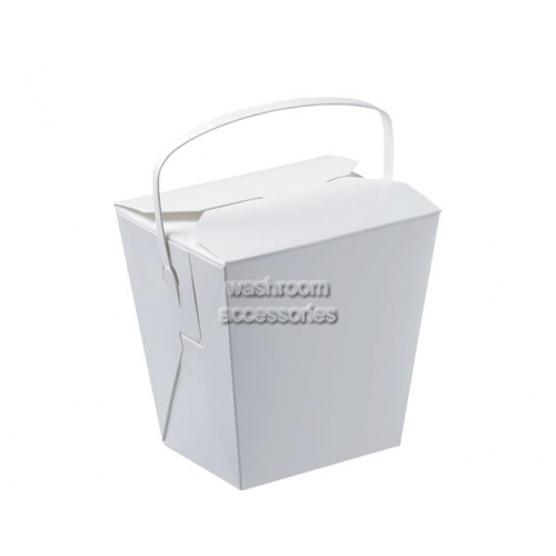View Cardboard Food Pail with Handle Large 769ml details.