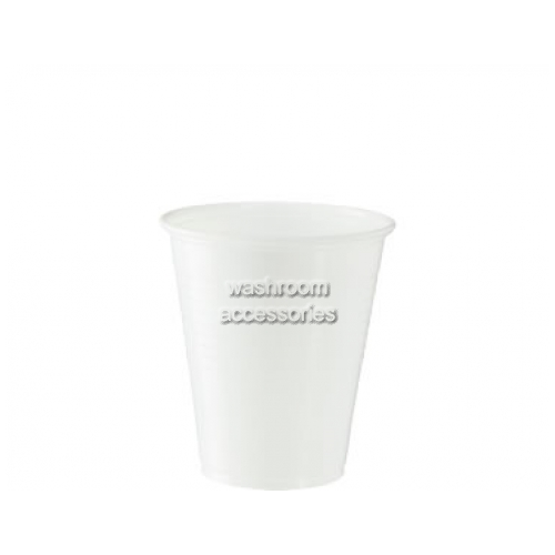 View Water Cup White Plastic 200ml details.