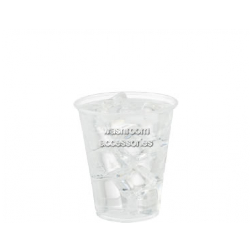 View Water Cup Clear Plastic 200ml details.