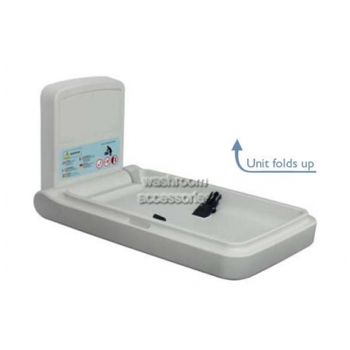 View Baby Change Table BBR-003 Vertical Plastic Surface Mounted details.