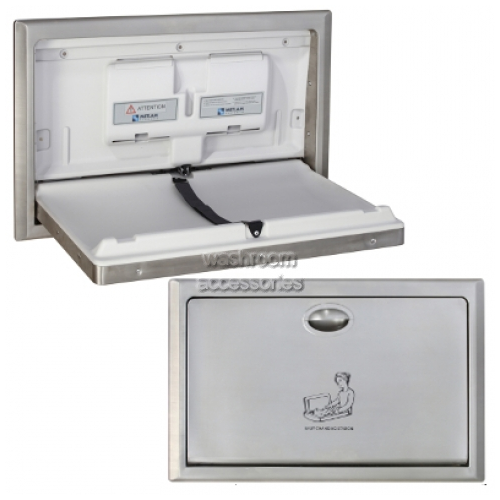 View ML8200SM Baby Change Table Surface Mounted Horizontal details.