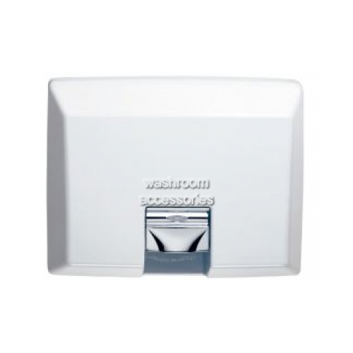View B750 Hand Dryer Recessed details.