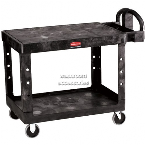 View 4525 Utility Cart with Flat Shelf, Heavy Duty details.
