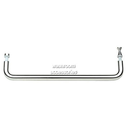 View SH600 Rail with Knob Handles, Satin Stainless Steel details.