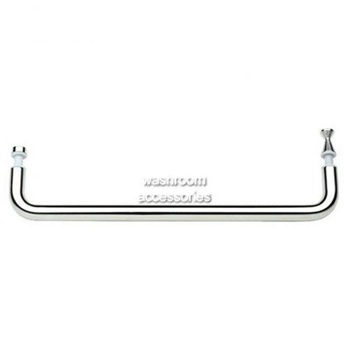View SH900 Rail with Knob Handles, Polished Stainless Steel details.