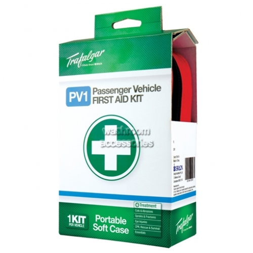 View Passenger Vehicle First Aid Kit details.