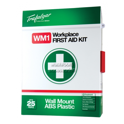 View Wall Mounted Workplace First Aid Kit details.