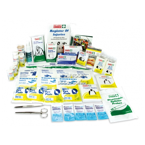 View Workplace First Aid Kit- Refill Contents Only details.