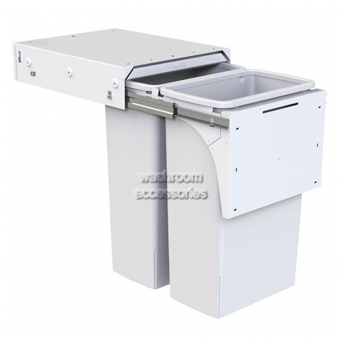View Double Waste Bin 2 x 40L details.