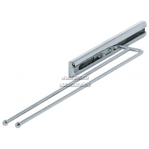 View Towel Rail 2-Arm with Extending Steel Runner details.