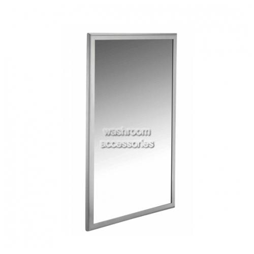 View 20650 Tempered Glass Mirror with Angled Frame details.