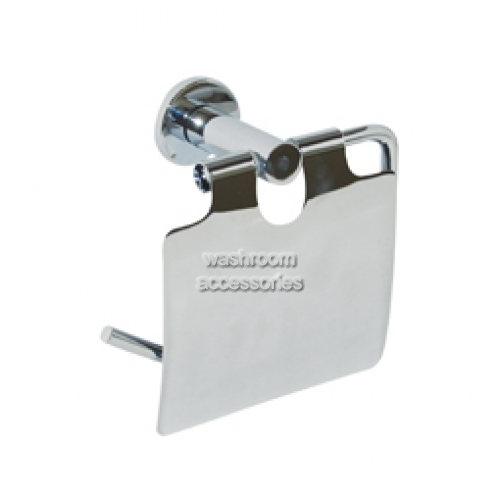 View ML6224 Single Toilet Roll Holder with Hood details.