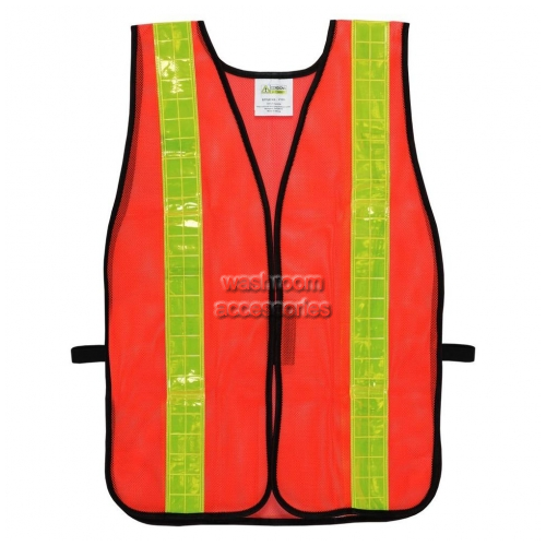 View WorknPlay samplevest8-10 Hi-Vis Safety Vest Sample details.