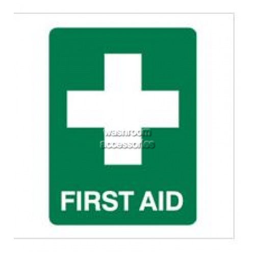 View First Aid Sign Polypropylene details.
