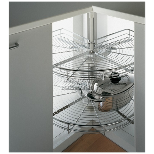 View Wire Storage Carousel Rack 270 Degree details.