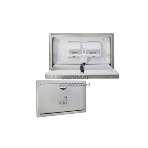 View ML8200REC Baby Change Station Recessed Horizontal details.