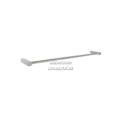 View ML6056 Single Towel Rail Square Mounting details.