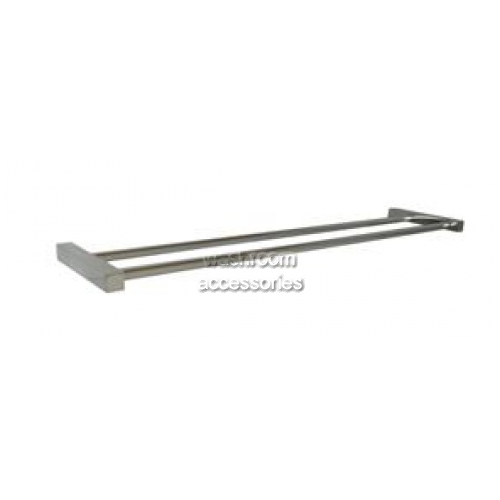 View Towel Bar Double 600mm Square Mounting- PSS details.
