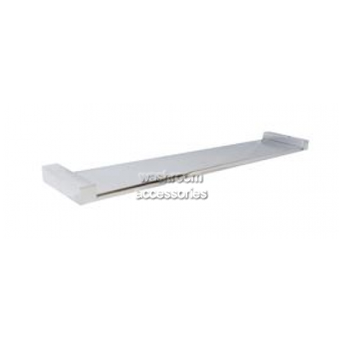 View ML6080 Bathroom Shelf Square Mounting details.