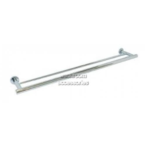 View ML6208 Double Towel Rail Round Bases details.