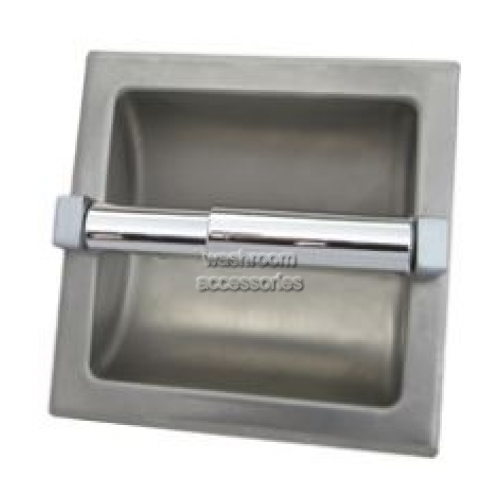 View ML260 Single Toilet Roll Holder Recessed details.