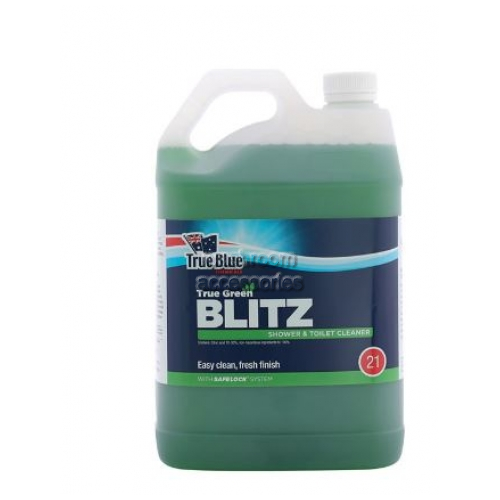 View Blitz Shower and Toilet Cleaner details.