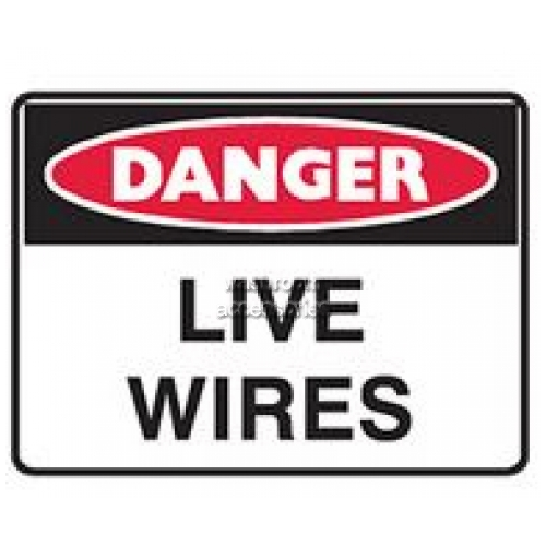 View Live Wires Sign details.