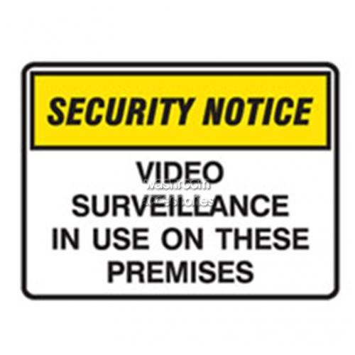 View Video Surveillance In Use On These Premises Sign details.