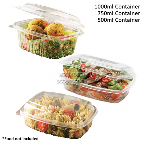 View BTL Food Container Dome Lid Hinged details.