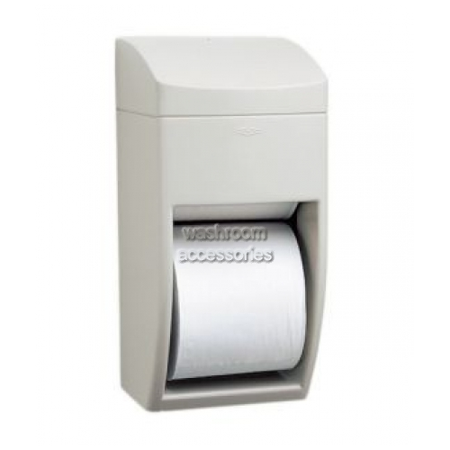 View B5288 Multi-Roll Toilet Tissue Dispenser details.