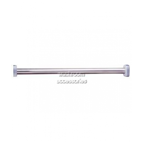 View B6107 Shower Curtain Rod Straight details.