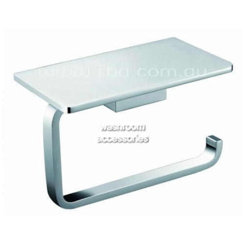 View RBA1622 Toilet Roll Holder with Phone Shelf details.