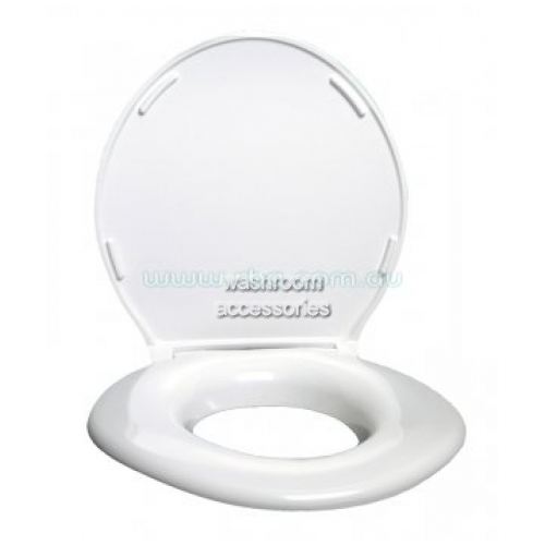 View RBA8186 Toilet Seat Extra Wide with Hinged Lid details.