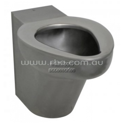 View RBA8841 Toilet Suite Wall Faced Stainless Steel P-Trap details.