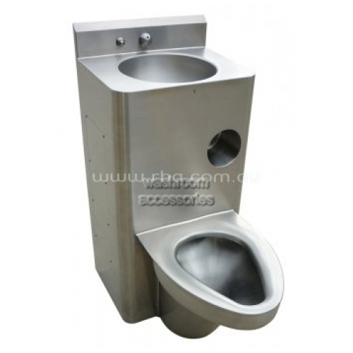 View Toilet Comby RBA8857 Combined Toilet and Wash Basin details.