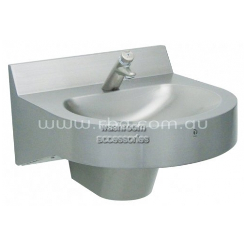 View RBA8889 Single Basin with Trap Cover and Tap details.