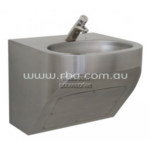 View RBA8867 Basin with Tapware Wall Mount details.