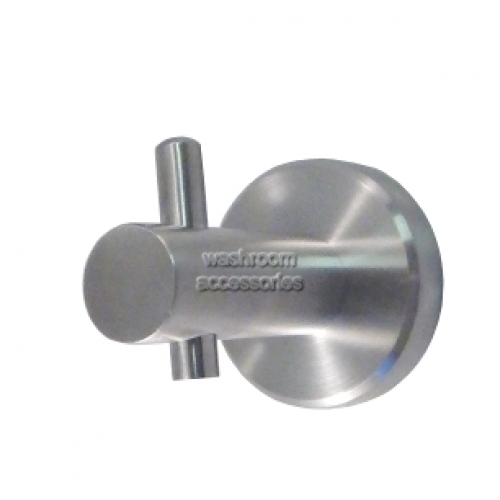 View ML700 Single Robe Hook Long with Pin details.