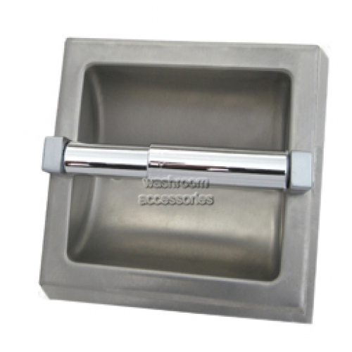 View ML260 Single Toilet Roll Holder Surface Mounted details.