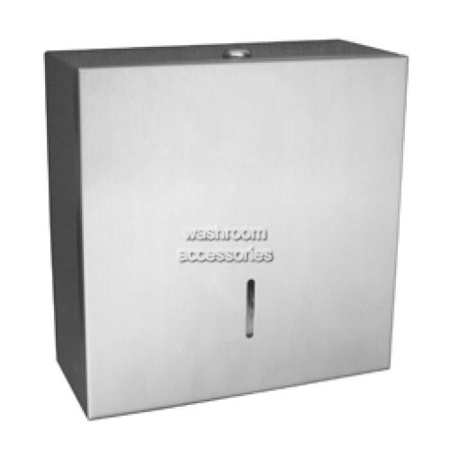 View ML842 Jumbo Toilet Roll Dispenser Single details.