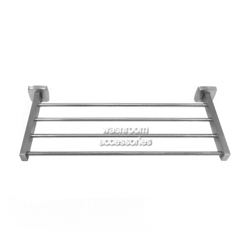 View 9104 Hotel Towel Rack Shelf with Underslung details.