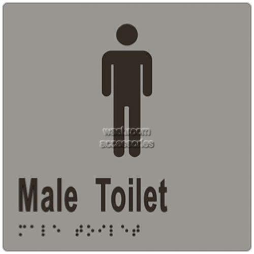 View ML16242 Braille Sign, Male Toilet details.