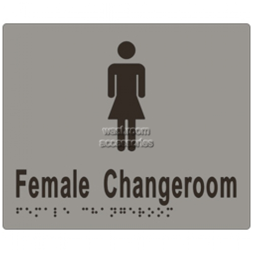 View ML16265 Braille Sign, Female Change Room details.