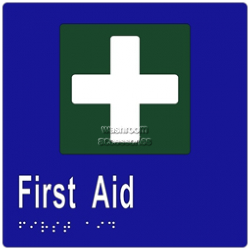 View ML16095 Braille Sign, First Aid details.